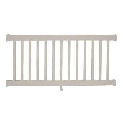 Walton 3 ft. H x 6 ft. W Tan Vinyl Railing Kit