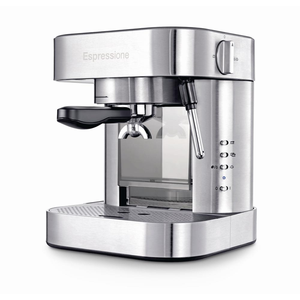 Stainless Steel Automatic Pump Espresso Machine with Thermo Block System