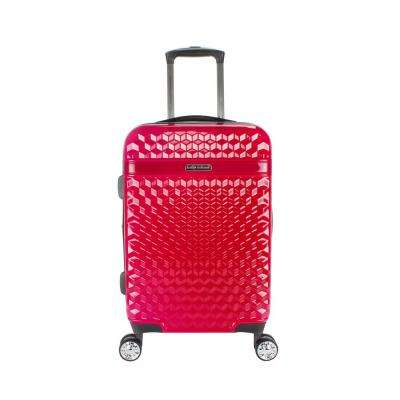 Audrey 22 in. Red Hardside Spinner Luggage