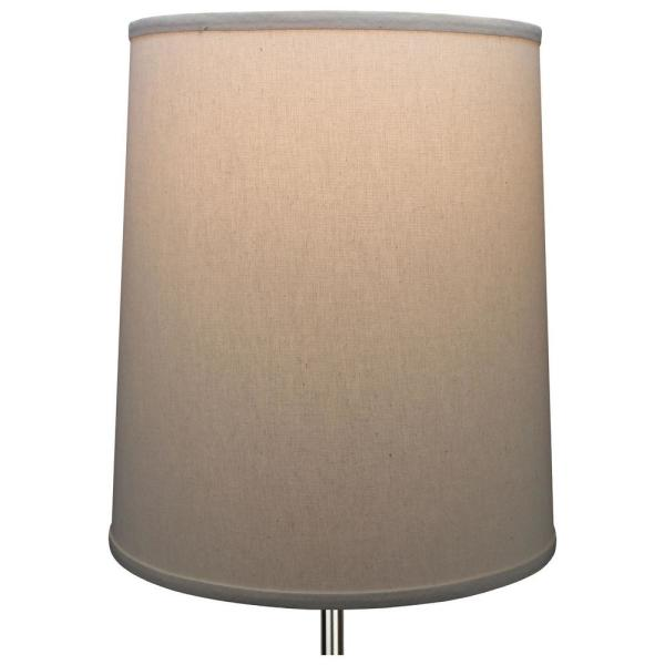 Fenchelshades Com Fenchel Shades 13 In Top Diameter X 15 In Bottom Diameter X 17 In Slant Linen Homespun Beige Empire Lamp Shade 13 15 17 W L Hom The Home Depot