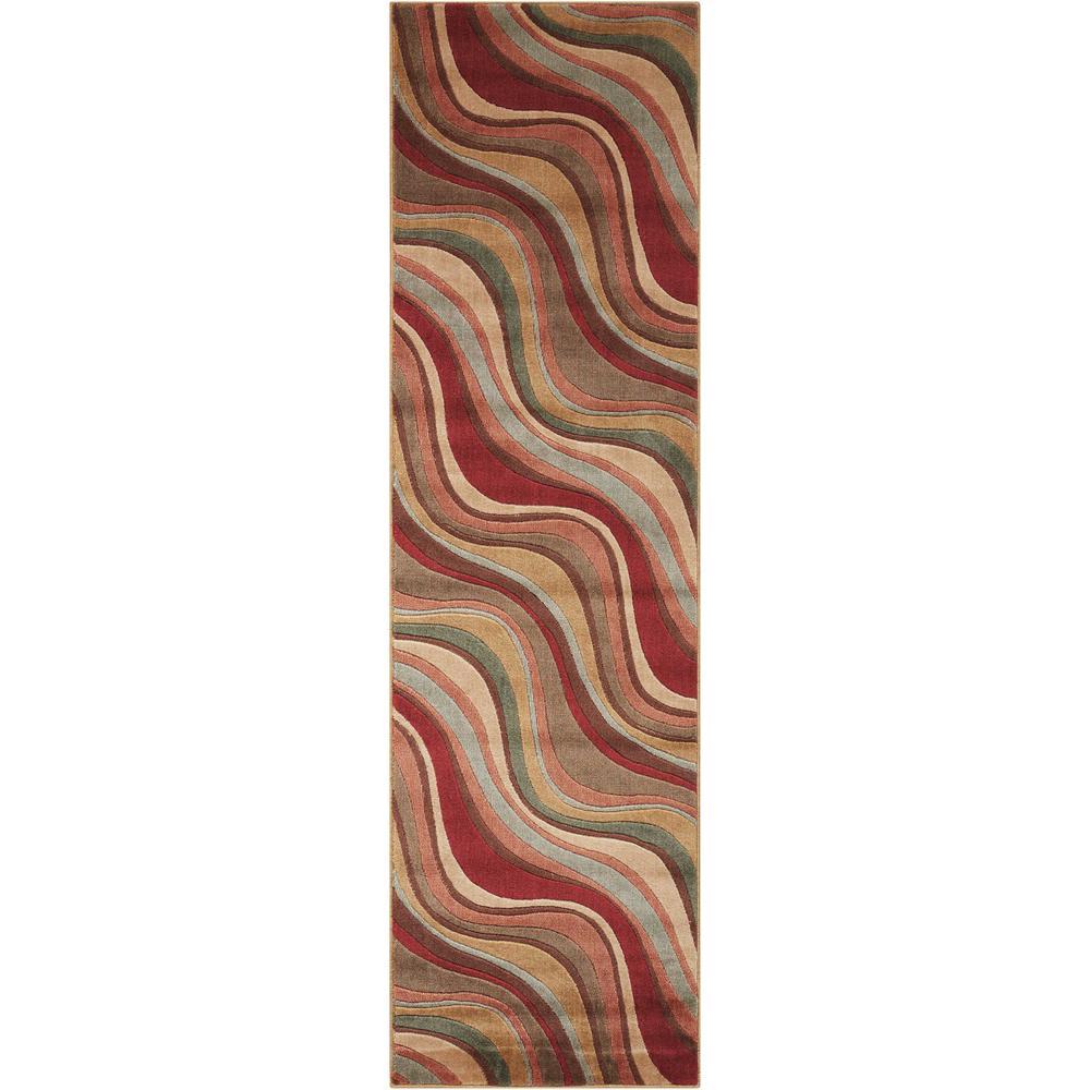Nourison Somerset Multicolor 2 ft. x 8 ft. Runner Rug