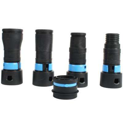 Expanded Multi-Brand Power Tool Adapter Set for Dust Collection