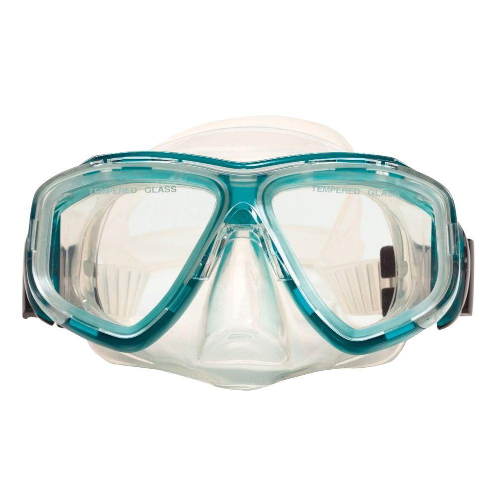 Green Newport Teen Scuba Mask