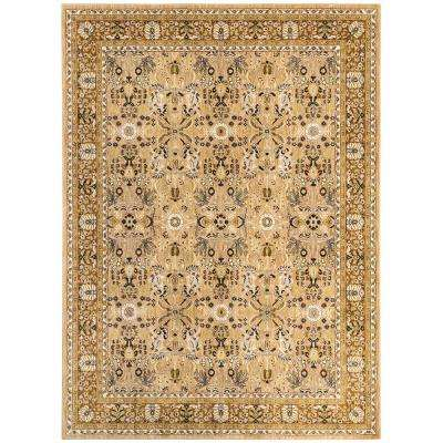 Madon Gold 5 ft. 3 in. x 7 ft. 8 in. Area Rug