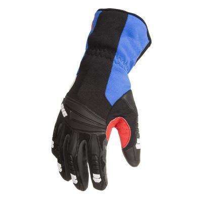 Cut Resistant Level 5 Impact Absorbent Winter Work Safety Gloves, Blue