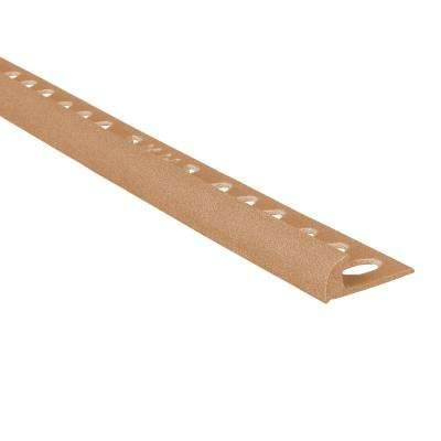 Novocanto Maxi Terra 5/16 in. x 98-1/2 in. Composite Tile Edging Trim