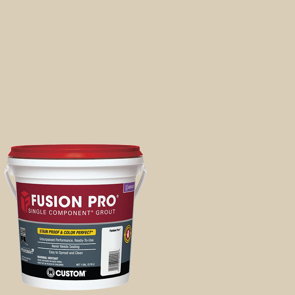 custom building products fusion pro 10 antique white 1 gal single component grout fp101 2t. Black Bedroom Furniture Sets. Home Design Ideas