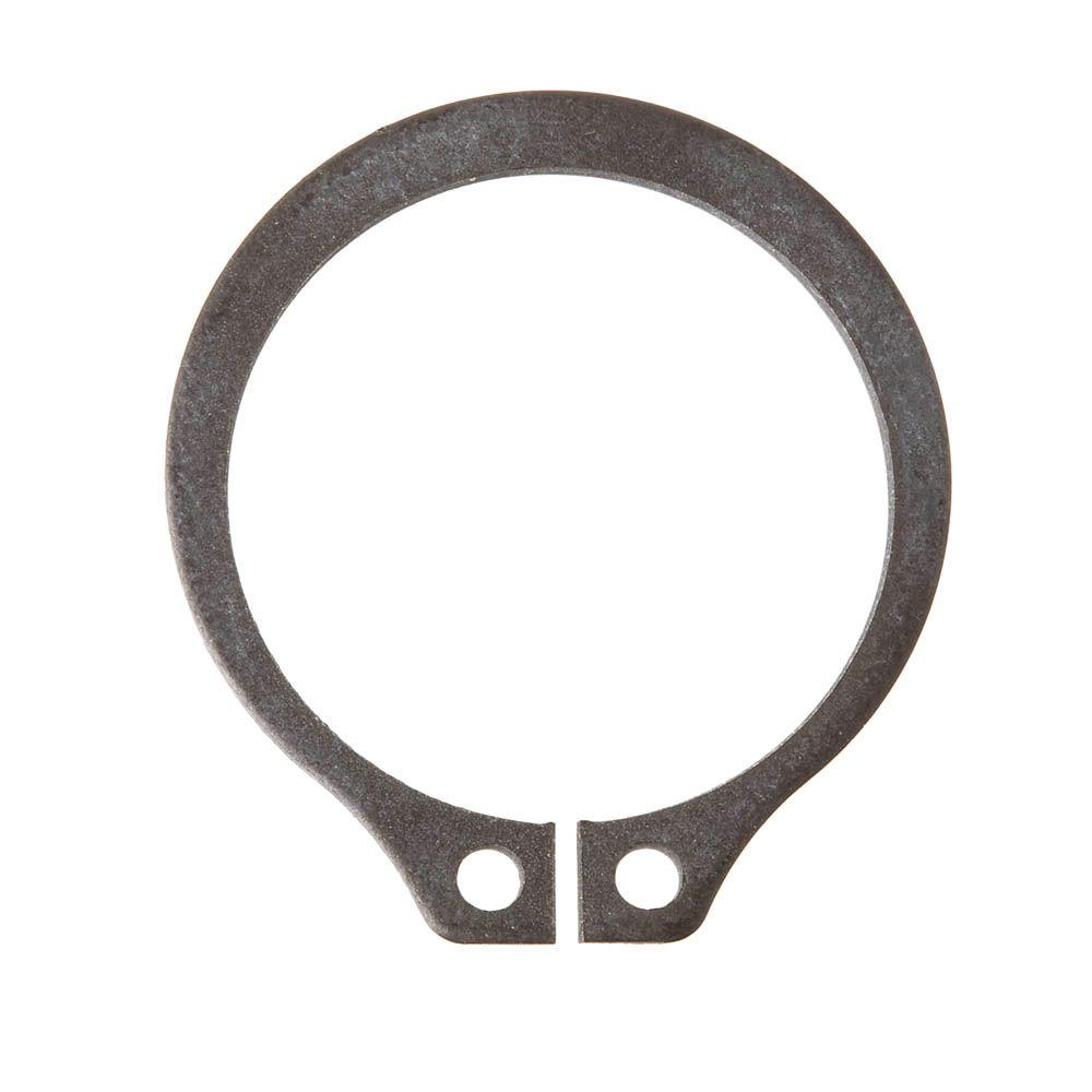 Crown Bolt 1-1/4 in. Steel External Retaining Ring