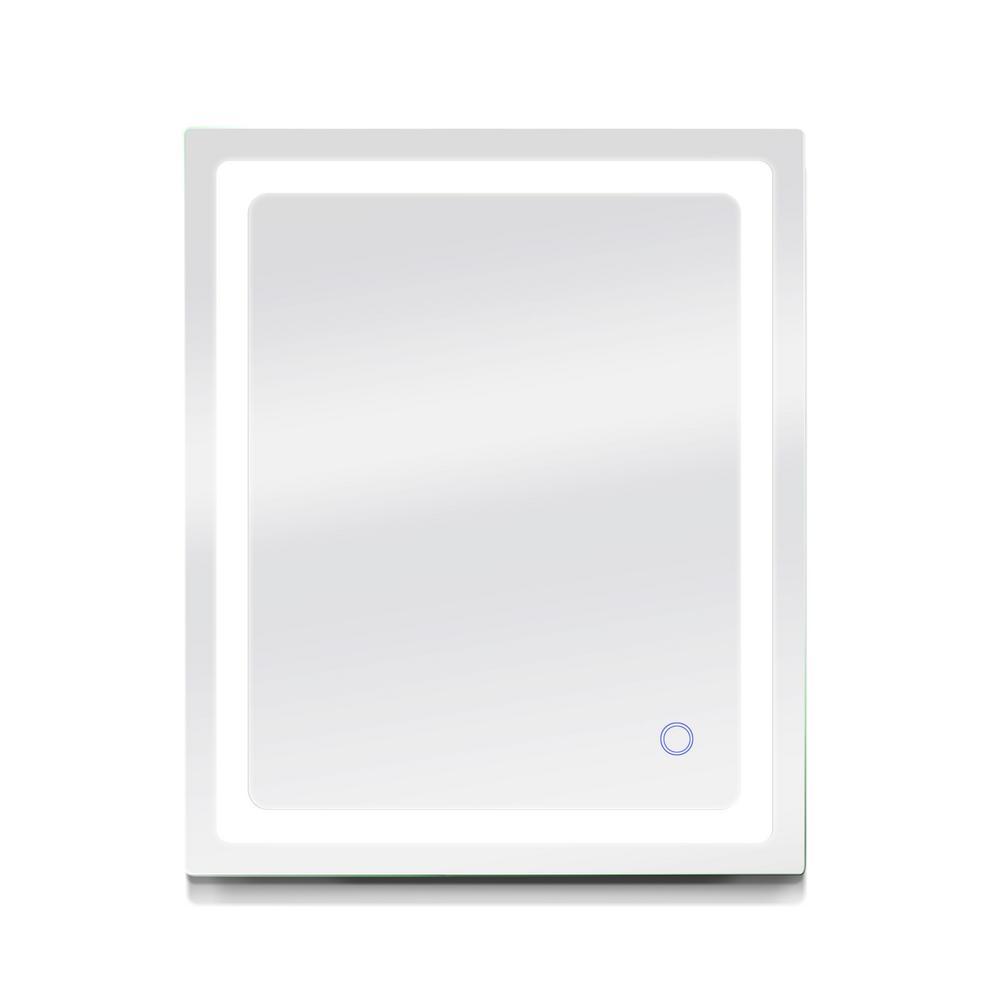 Swan 30 in. W x 36 in. H Frameless Rectangular LED Light Bathroom Vanity Mirror