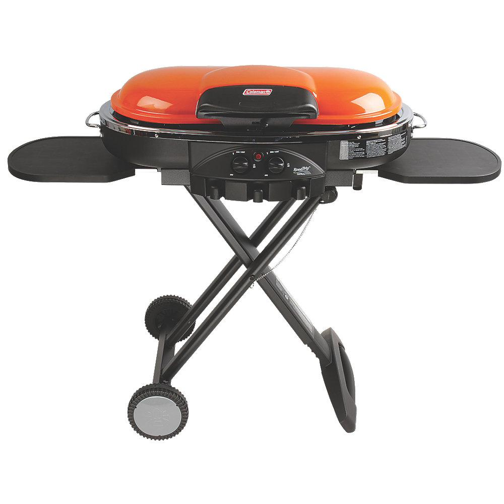 Coleman RoadTrip LXE 2 Burner Propane Grill In Orange