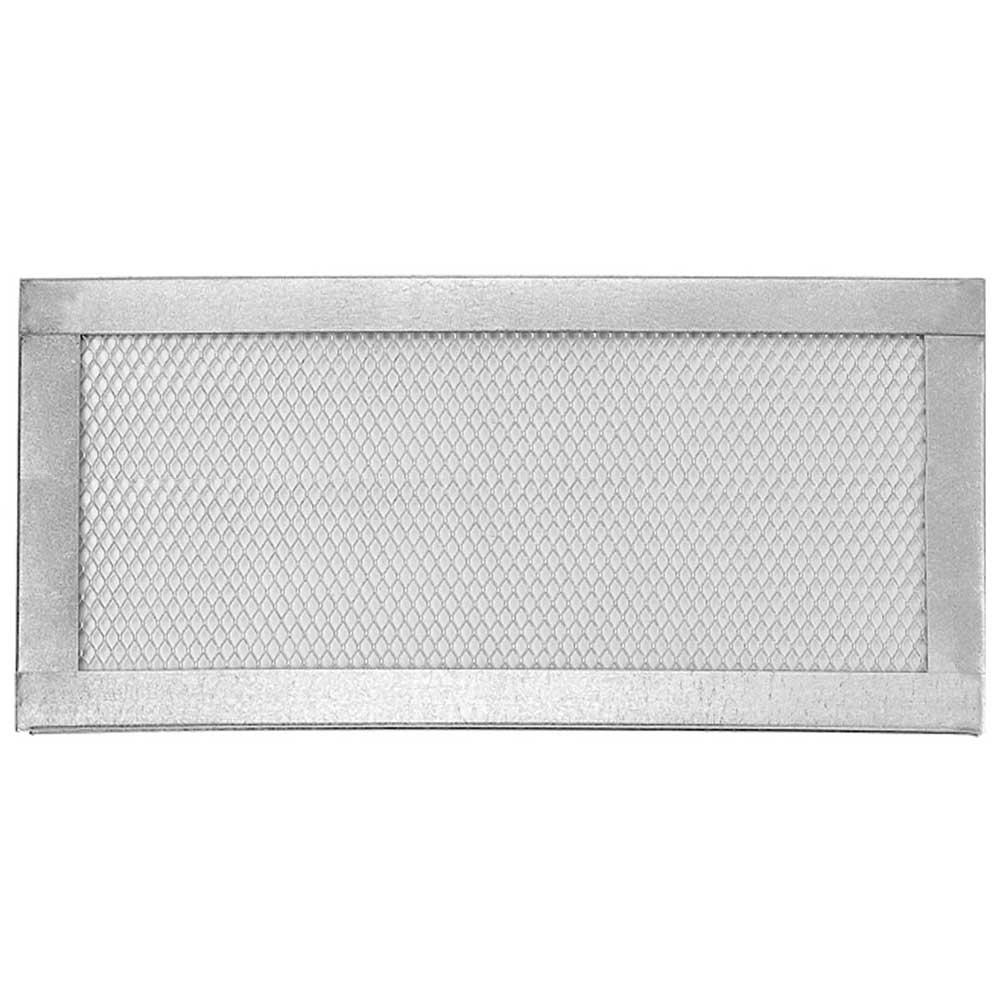 Gibraltar Building Products 16 In X 8 In Galvanized Steel Flat Screen Vent Scv168 1 8 The Home Depot