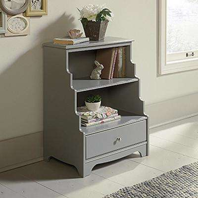 Eden Rue Gray Accent Bookcase