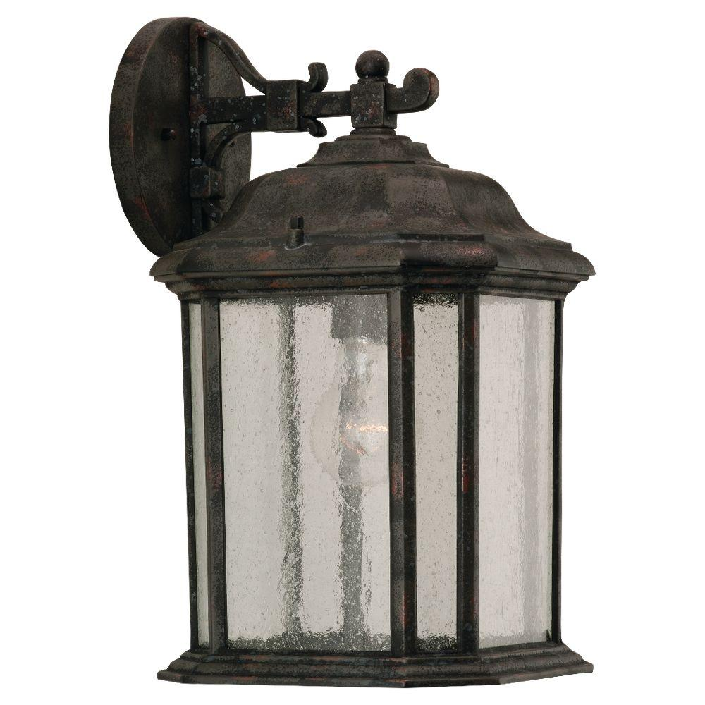 Kent 1-Light Oxford Bronze Outdoor Wall Fixture