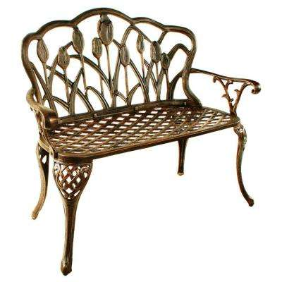 Tulip Loveseat Patio Bench