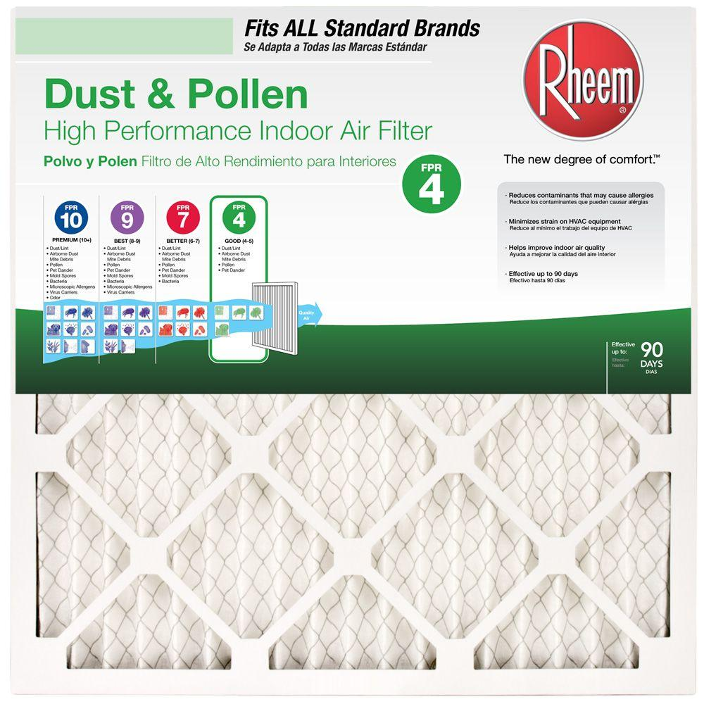 Best furnace air filters for allergies - 10 In X 25 In X 1 In Basic Household Pleated