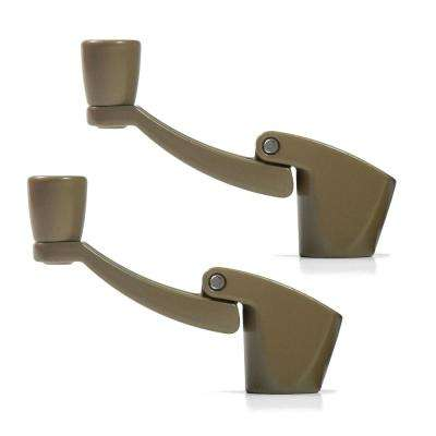 Fold-Away-Handle Window Cranks (Bronze)