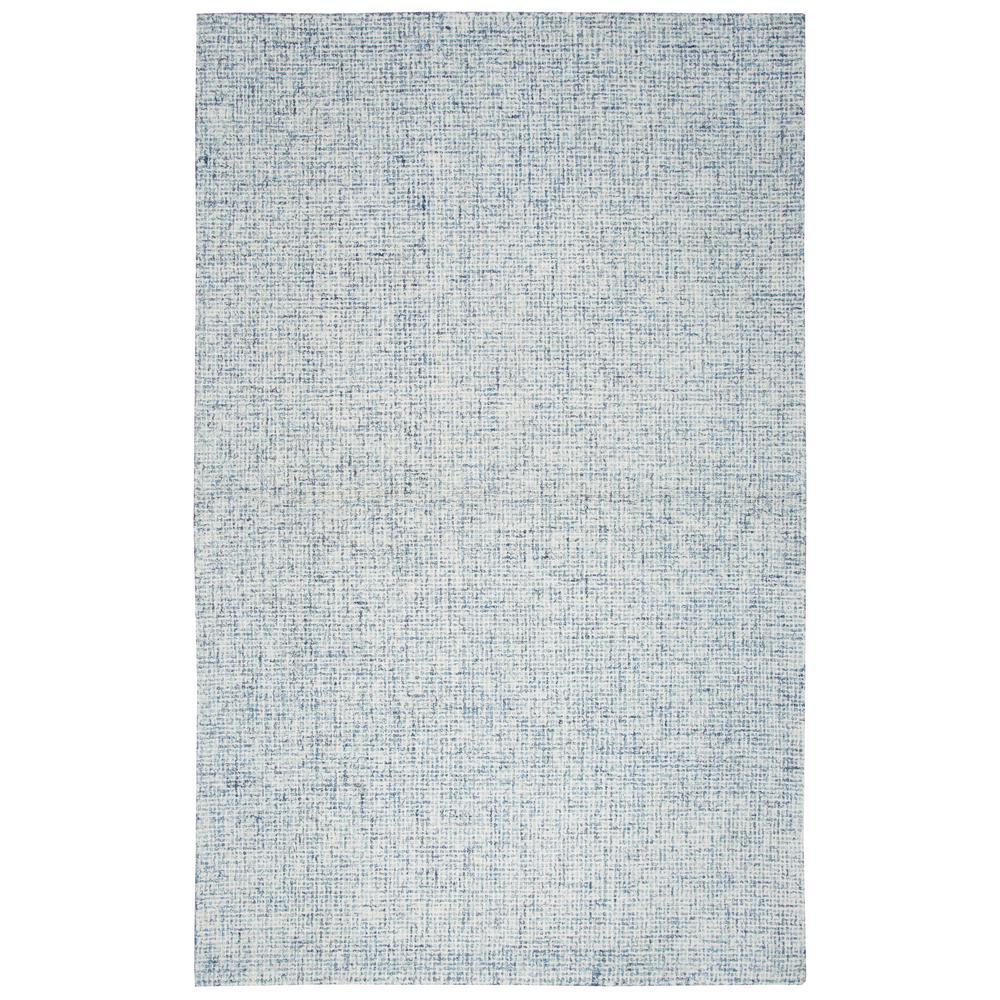 Brindleton Light Blue Solid/Gradient 9 ft. x 12 ft. Area Rug