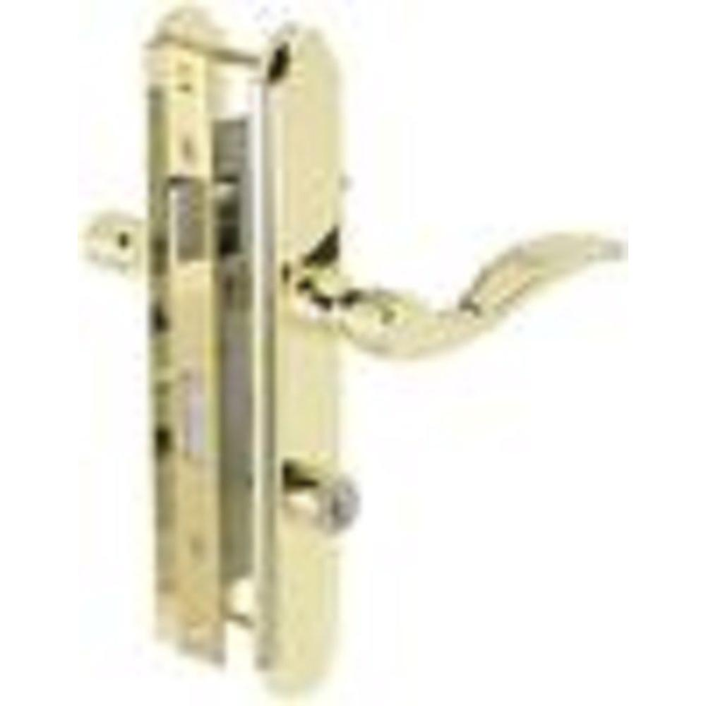 Wright Products Serenade Polished Brass Mortise Latch with Deadbolt