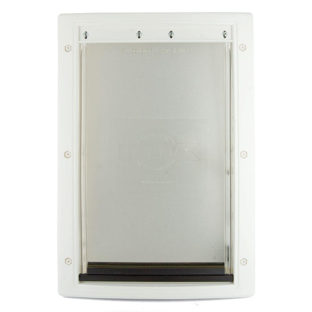 PetSafe 13-5/8 in. x 23 in. x Large White Plastic Pet Door