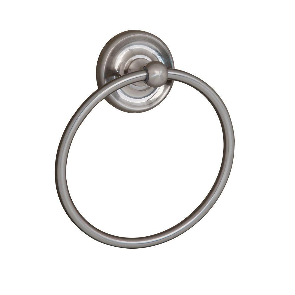Barclay Products Alvarado Towel Ring in Satin Nickel