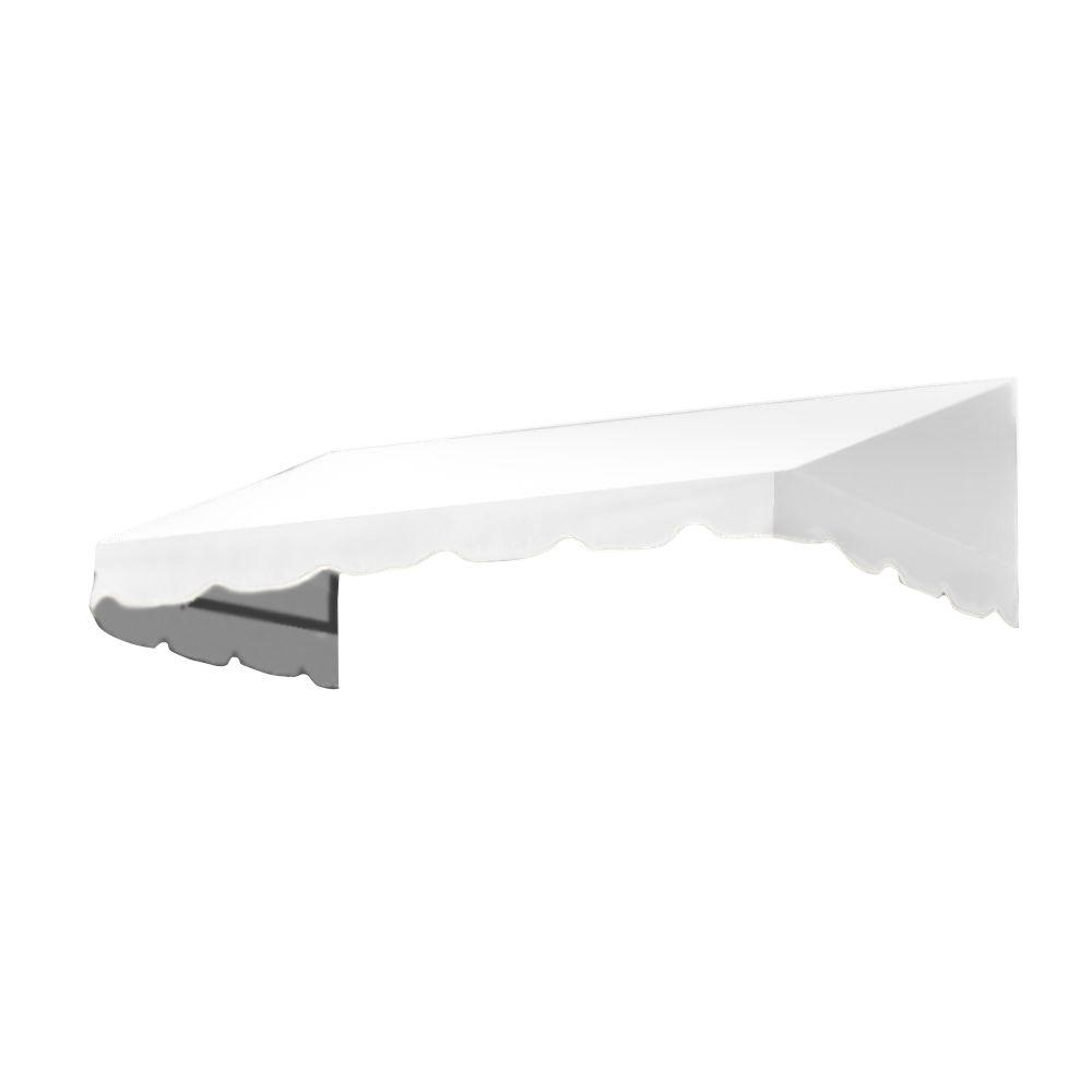 AWNTECH 25 ft. San Francisco Window Awning (44 in. H x 24 in. D) in Off-White