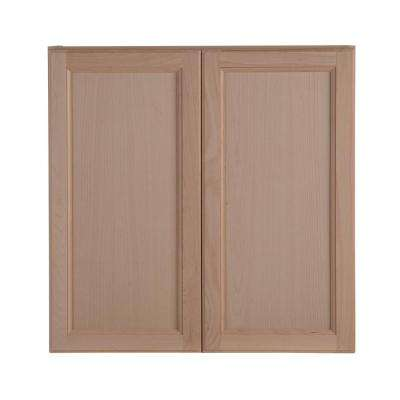 Assembled 30 In. X 30 In. X 12.62 In. Easthaven Wall Cabinet In