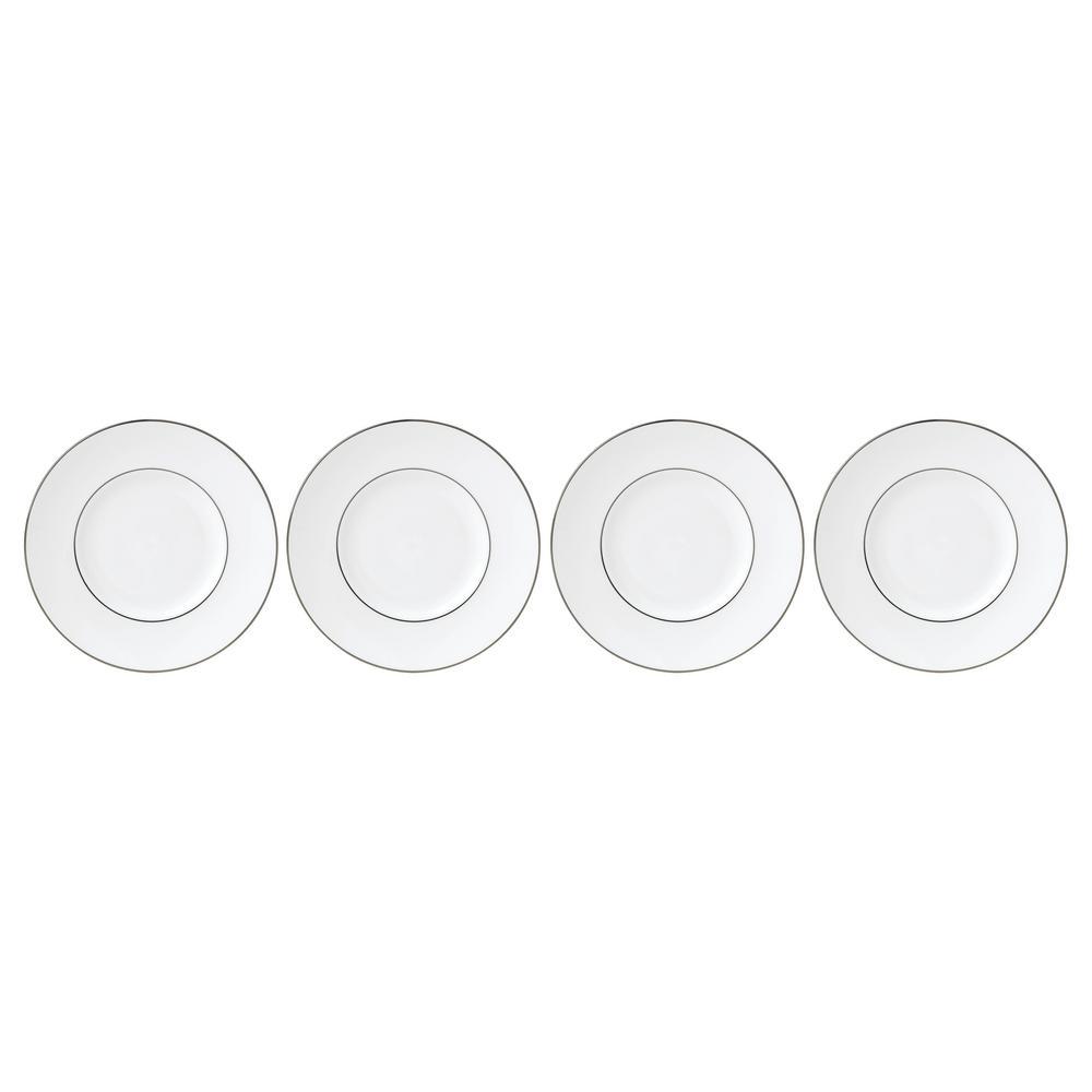 Continental 7.25 in. Dining Platinum Tidbits (Set of 4)