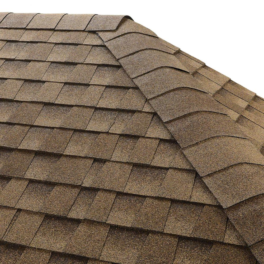 Seal-A-Ridge Shakewood Hip and Ridge Shingles (25 linear ft. per Bundle)