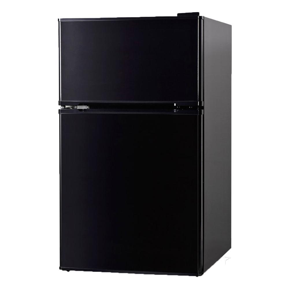3.1 cu. ft. Mini Refrigerator/Freezer in Black