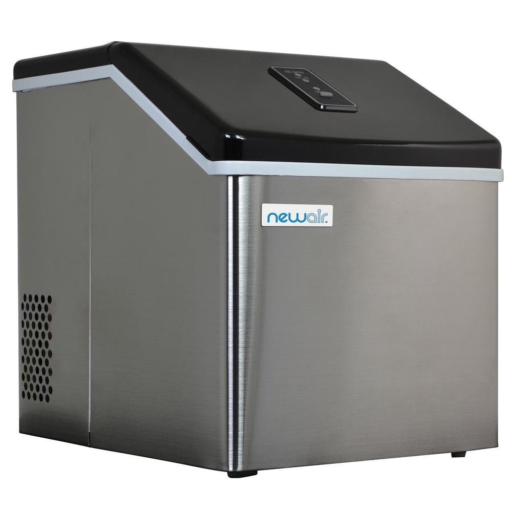 NewAir 40 lb. Countertop Clear Ice Maker,