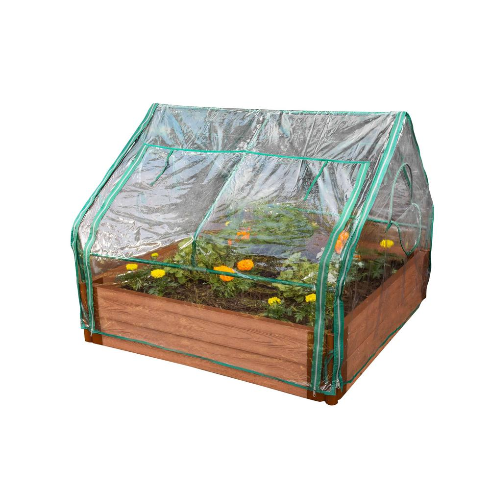 4 ft. x 4 ft. x 36 in. Extendable Greenhouse