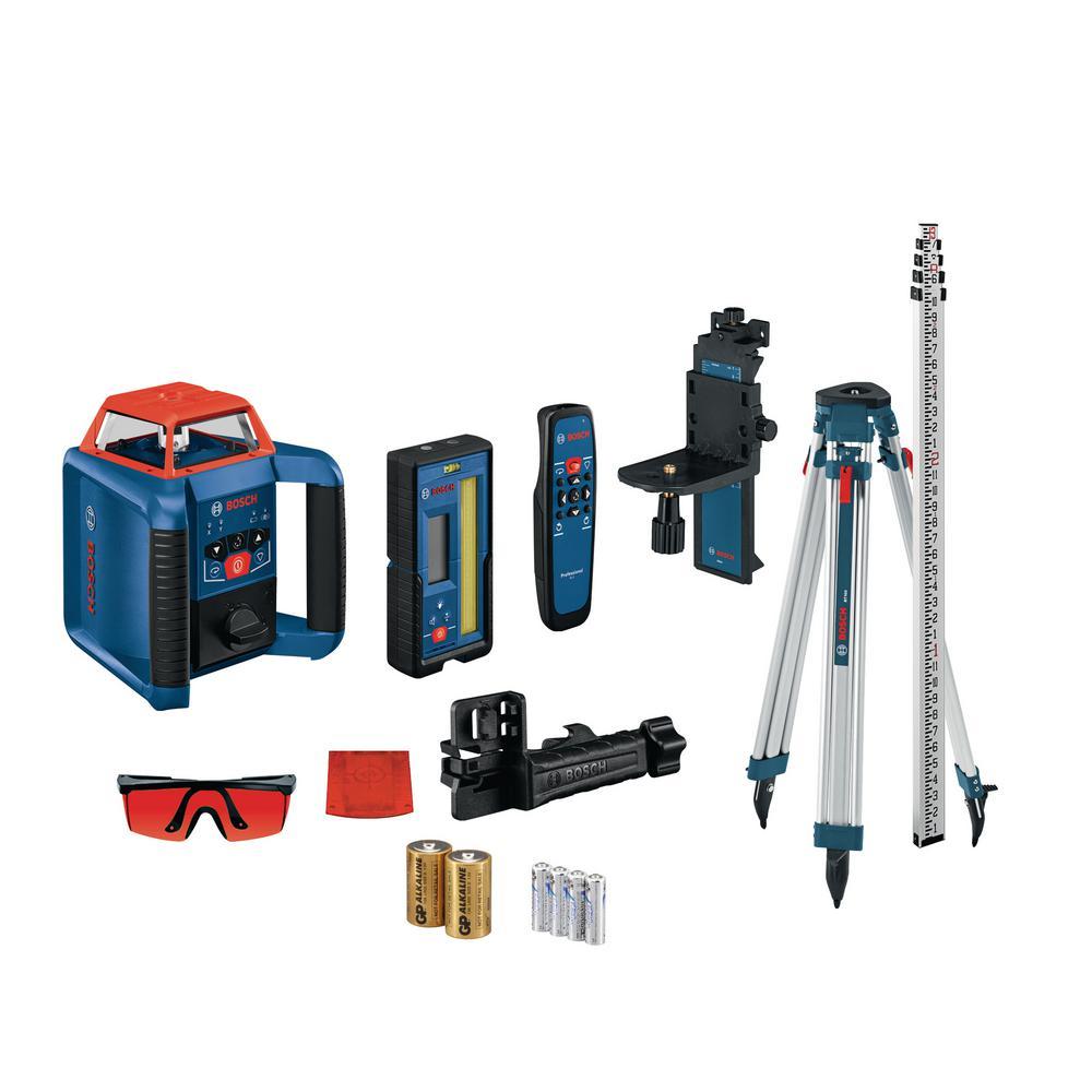 REVOLVE2000 Self-Leveling Horizontal/Vertical Rotary Laser Kit