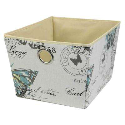 12 in x 8 in. Height Butterfly Cube Organizer