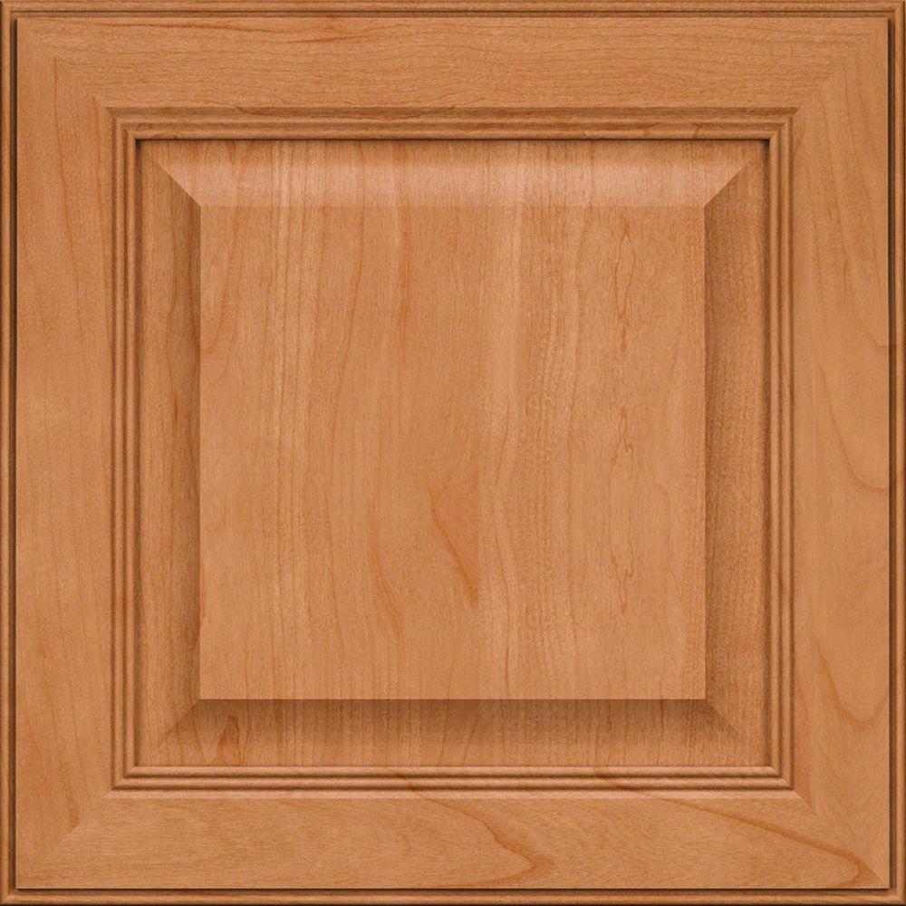 Lennox Court 14 5/8 x 14 5/8 in. Cabinet Door Sample in Honey Spice