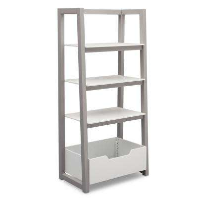Grey Ladder Shelf