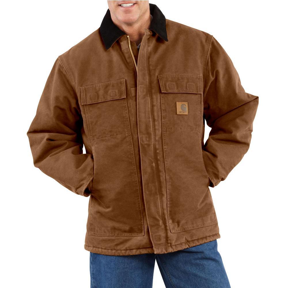 Men'S Medium Brown Cotton AQL Sandstone Traditional Coat