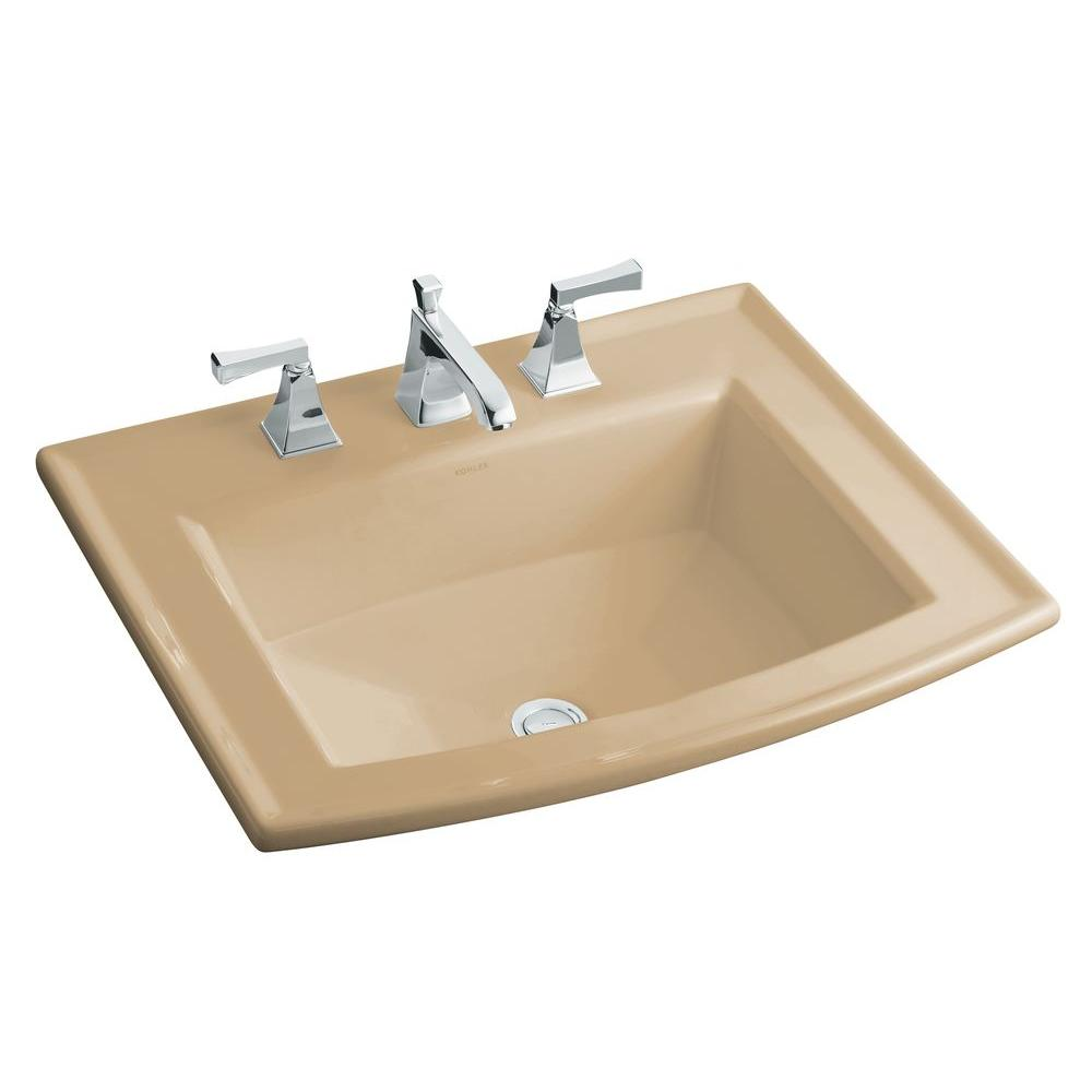 Rectangle - Drop-in Bathroom Sinks - Bathroom Sinks - The Home Depot