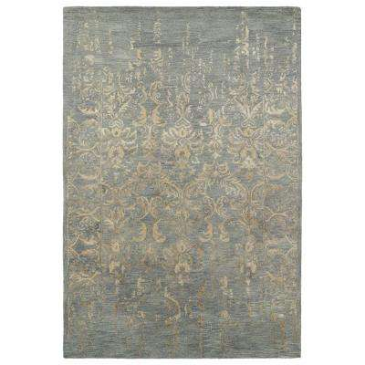 Mercery Bronze 10 ft. x 13 ft. Area Rug