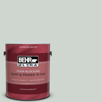 1 gal. #MQ3-21 Breezeway Matte Interior Paint and Primer in One
