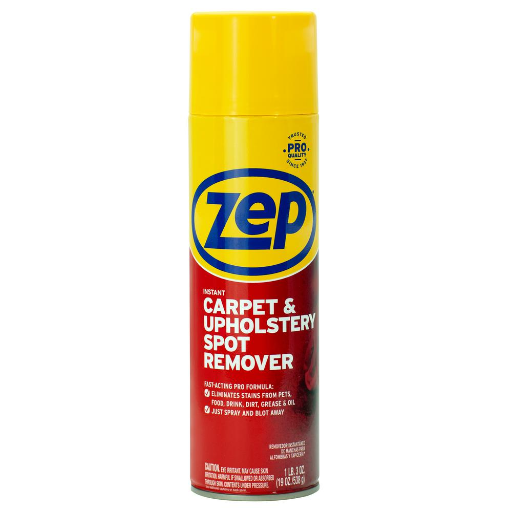 Zep 19 Oz Instant Spot And Stain Remover Case Of 12