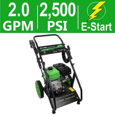 Pressure Storm Series 2,500 psi 2.0 GPM AR Axial Cam Pump Electric Start Gas Pressure Washer