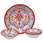 Bali 5-Piece Multi-Colored Salad/Serving Set