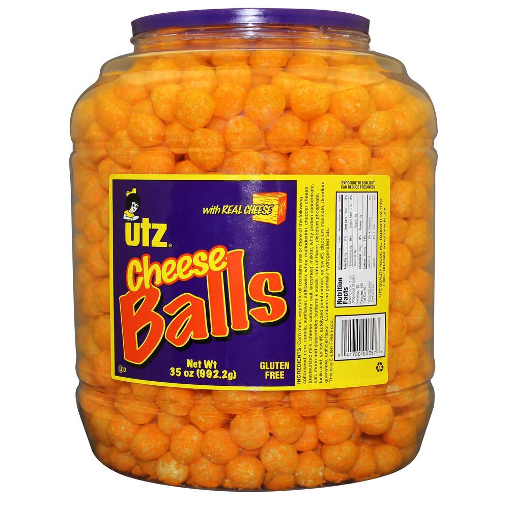 35 oz. Cheese Ball Barrels - 4 Pack