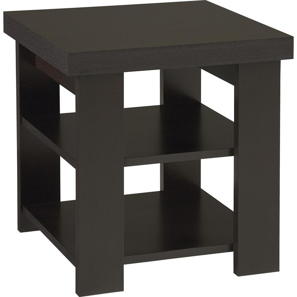 Vantage Black Forest Storage End Table