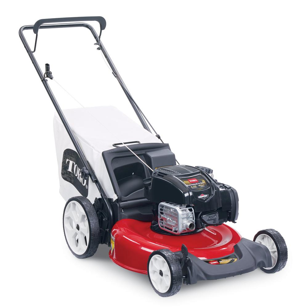 Briggs And Stratton High Wheel Gas Walk Behind Push Mower