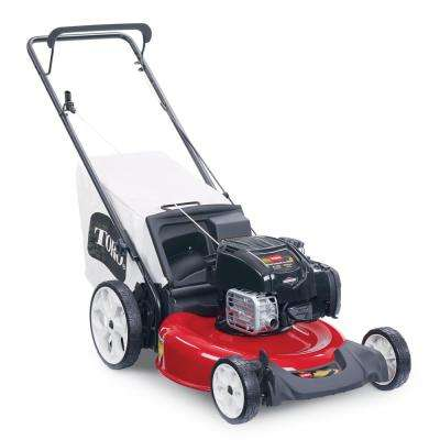 Recycler 21 in. Briggs and Stratton High Wheel Gas Walk Behind Push Mower