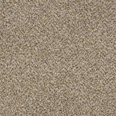 Wholehearted I - Color Crystal Sand Twist 12 ft. Carpet