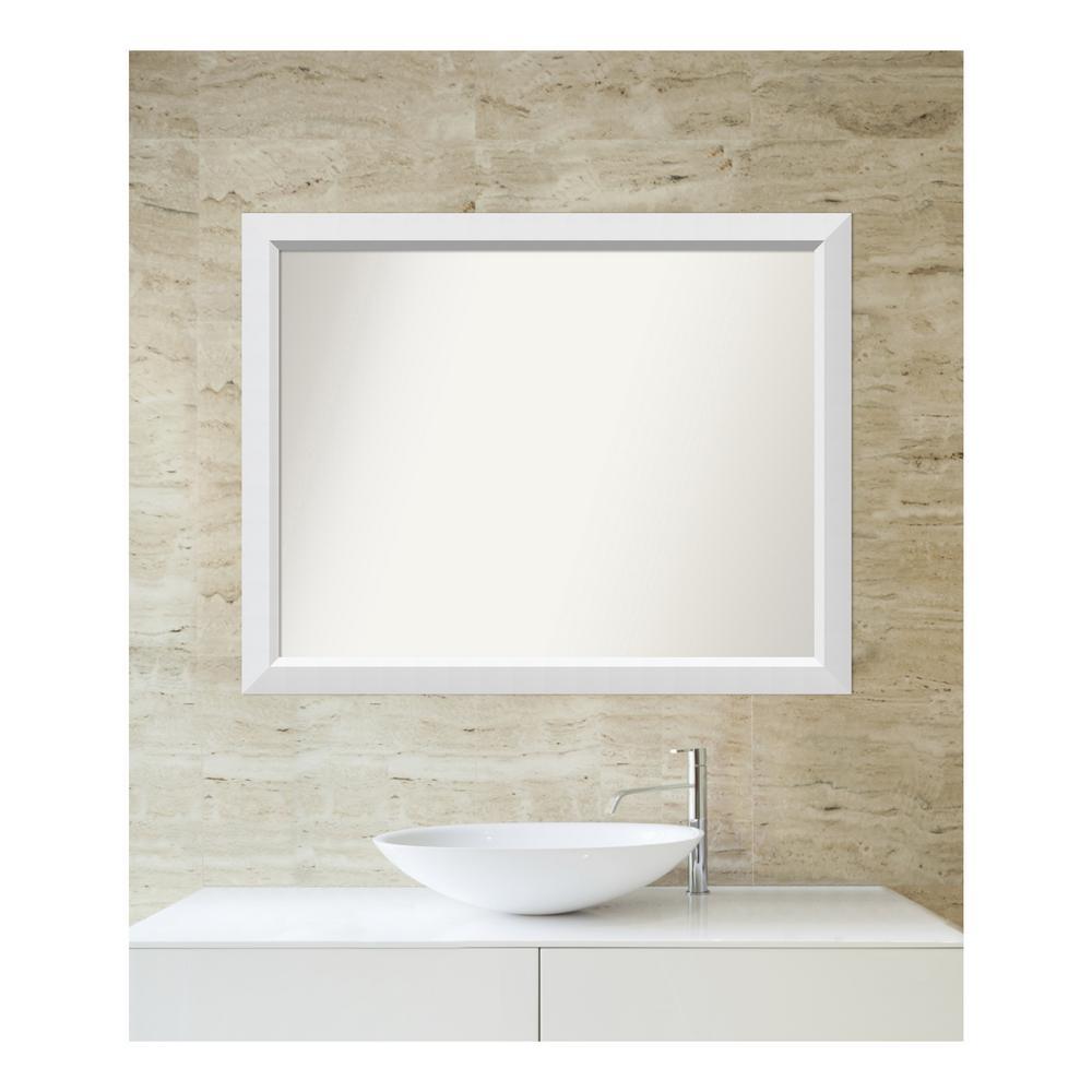 Choose Your Custom Size 30 in. x 38 in. Blanco White