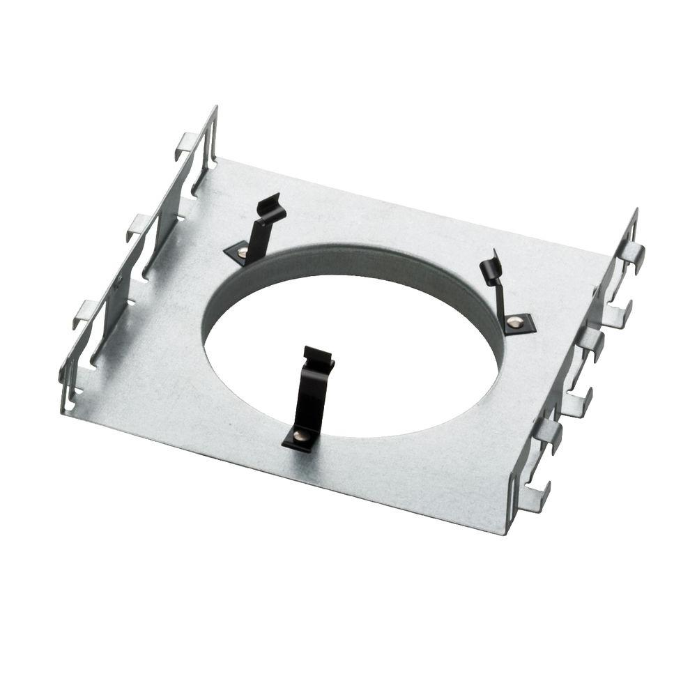 Construction Light Parts : Lithonia lighting in recessed new construction pan