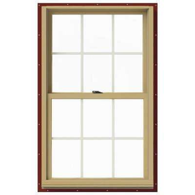 29.375 in. x 48 in. W-2500 Double Hung Aluminum Clad Wood Window  sc 1 st  The Home Depot & Argon Gas Insulated - Double Hung Windows - Windows - The Home Depot pezcame.com